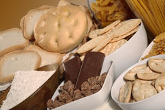 Breakfast biscuits Stock Image