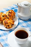 Breakfast: Black coffee Stock Images