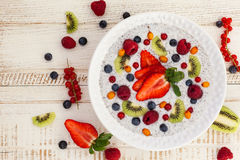 Breakfast bowl Royalty Free Stock Photography