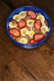 Breakfast Bowl on Table Royalty Free Stock Image