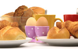 Breakfast bread egg 5 Royalty Free Stock Image