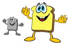 Breakfast bread toast Stock Images