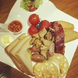 Breakfast brunch Stock Image