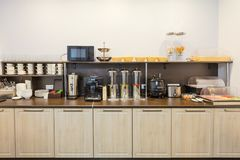 Free Breakfast Buffet In The Modern Hotel Motel Or Hostel During A Self Service Royalty Free Stock Images - 103086879