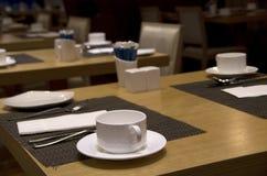 Breakfast buffet restaurant interiors Royalty Free Stock Photo