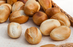 Breakfast buns Royalty Free Stock Images