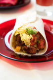 Breakfast Burrito Stock Photography