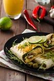 Breakfast burrito Stock Photography