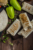 Breakfast burrito Royalty Free Stock Photo