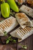 Breakfast burrito Stock Photos