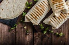 Breakfast burrito Royalty Free Stock Image
