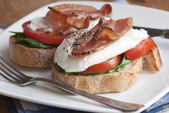 Breakfast butties Stock Image