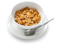 Breakfast cereal. On white background Royalty Free Stock Photography