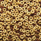 Breakfast cereal background Stock Images