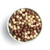 Breakfast cereal balls. Stock Images