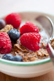 Breakfast cereal with berries Stock Photos