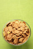 Breakfast cereal in bowl Stock Images