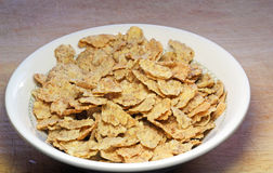 Breakfast cereal in a dish or bowl. Royalty Free Stock Image