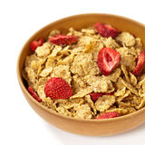 Breakfast cereal with dried fruits Stock Images