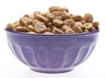 Breakfast Cereal with Heart Shapes Stock Photography