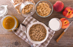 Breakfast cereal. Royalty Free Stock Photography