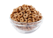 Breakfast cereal isolated Royalty Free Stock Photo