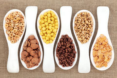 Breakfast Cereal Selection Stock Photos