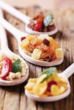 Breakfast Cereals And Dried Fruit Royalty Free Stock Image