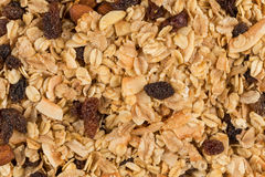 Breakfast cereals background Royalty Free Stock Image