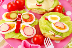 Breakfast for child Royalty Free Stock Photography
