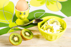 Breakfast for child Stock Photo