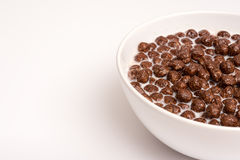Breakfast Chocolate Cereals Royalty Free Stock Image
