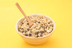 Breakfast - chocolate musli Stock Photos