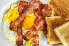Breakfast closeup Royalty Free Stock Photo