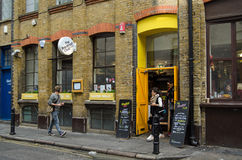 Breakfast Club Restaurant, London Royalty Free Stock Photography