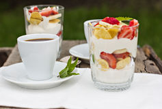 Breakfast -coffe Stock Image