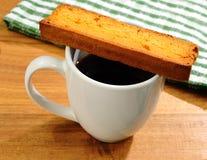 breakfast coffee 免版税图库摄影
