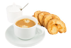 Breakfast coffee Stock Images