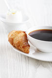 Breakfast with coffee Stock Photos