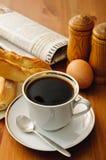 Breakfast coffee Royalty Free Stock Photo