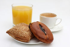 Breakfast and coffee Stock Photos