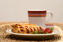 Breakfast and coffee Stock Images