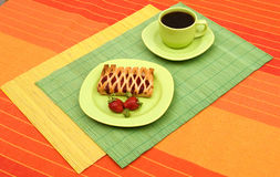 Breakfast and coffee Royalty Free Stock Photo