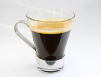 Breakfast coffee. First thing in the morning, coffee royalty free stock photography