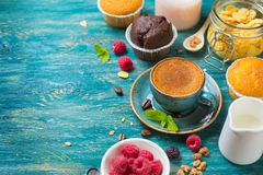 Breakfast  with coffee Royalty Free Stock Photography