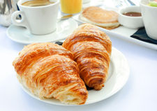 Breakfast with coffee Royalty Free Stock Image