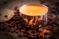 Breakfast coffee Royalty Free Stock Images