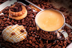 Breakfast coffee Royalty Free Stock Photos