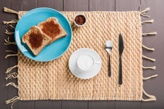 Breakfast coffee Royalty Free Stock Photography