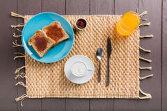 Breakfast coffee Stock Image